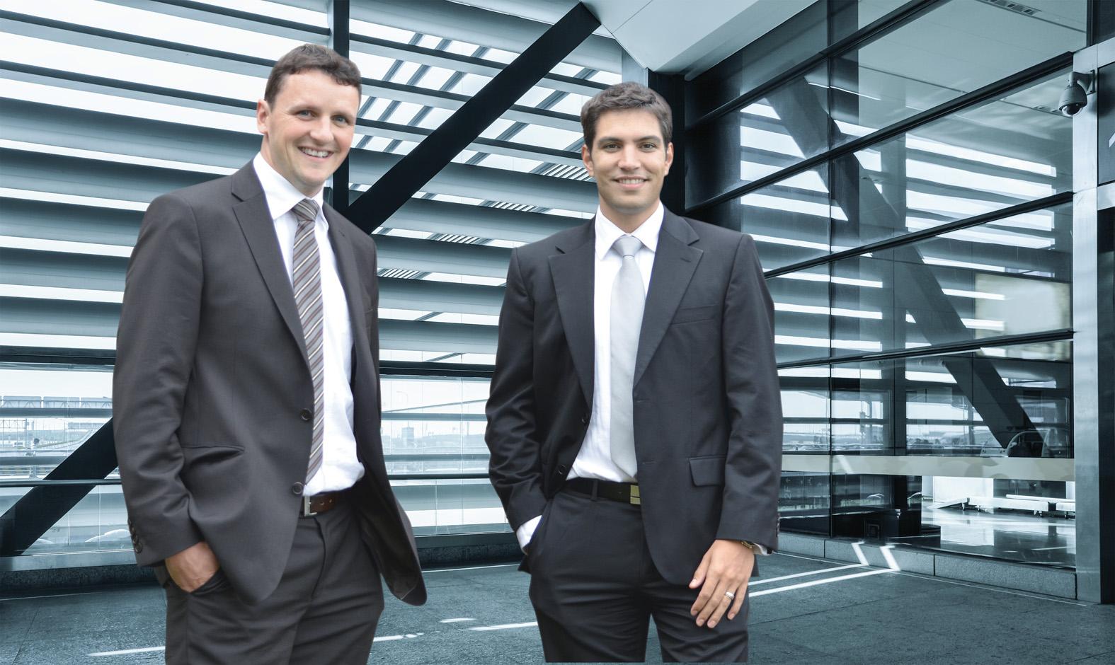 PDR-Team – Über uns –Arthur Vogel & Nathanael Alain